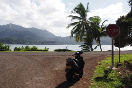La route de Huahine